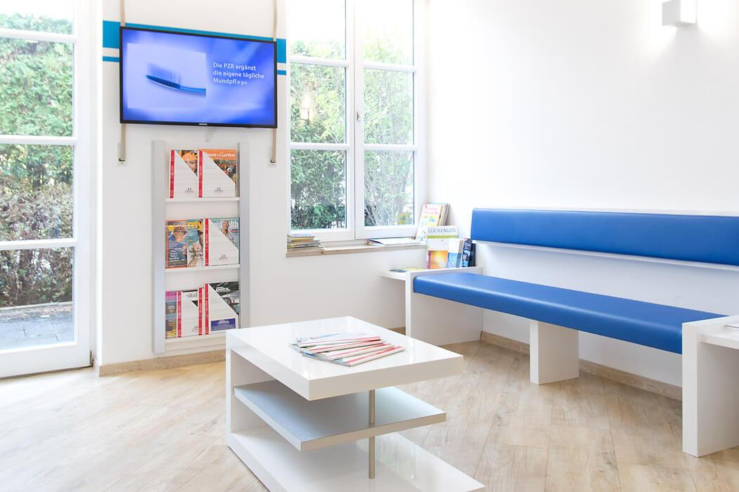 Zahnarzt Neuburg - Praxis Reubel - Wartebereich