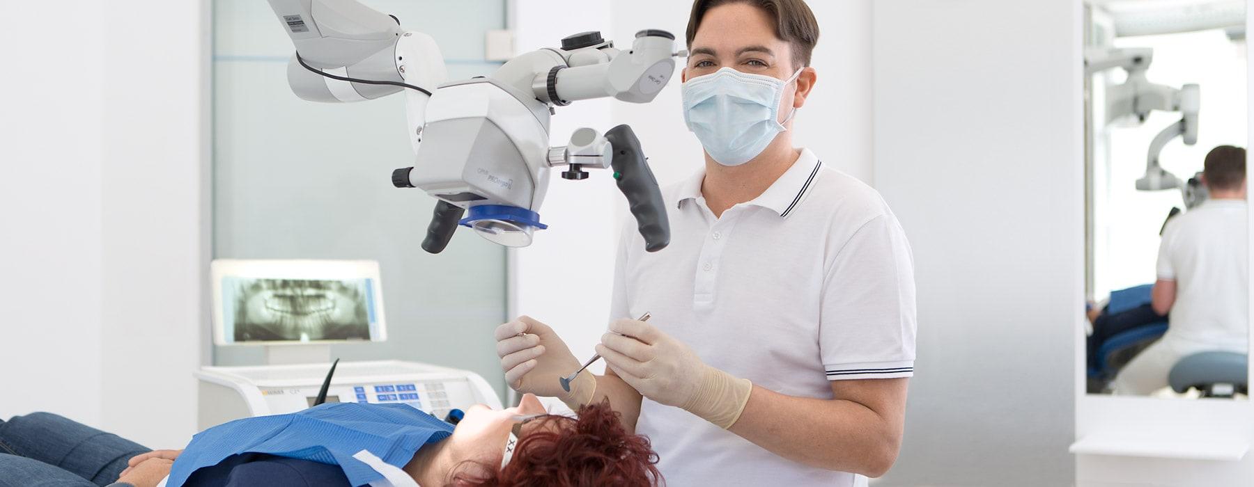Zahnarzt Neuburg - Reubel - Leistungen